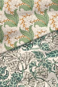 Lila en lelietje-van-dalen bloem stof achtergrond