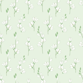 Lily naadloze patroon