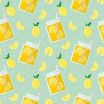 Limonade naadloze patroon
