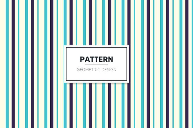 Lineair kleurrijk geometrisch naadloos patroon