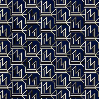 Lineair plat abstract lijnenpatroon