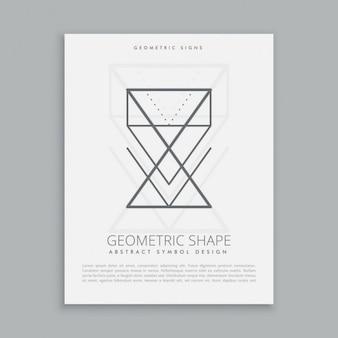 Lineart geometrische vormen