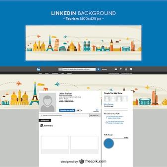Linkedin toerisme achtergrond