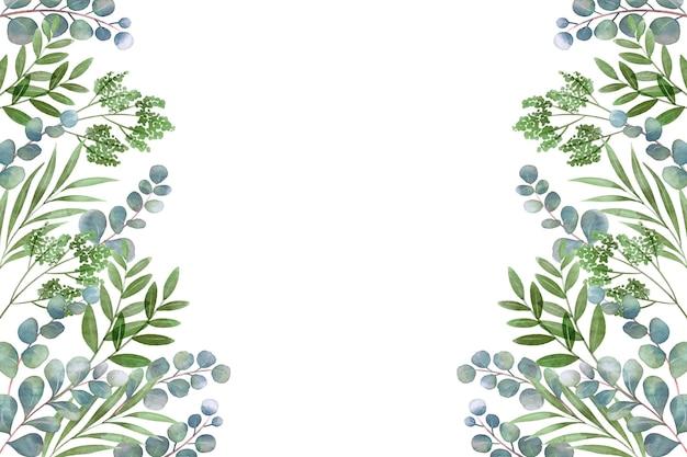 Links en rechts laat kopie ruimte