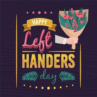 Linkshandige dag evenement