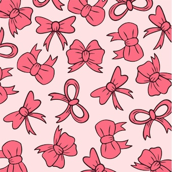 Lint buigt patroon achtergrond social media post vectorillustratie