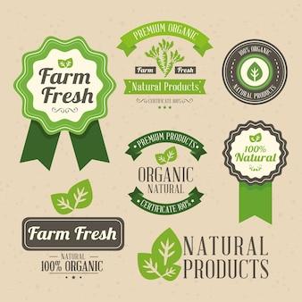 Linten en badges voor producten