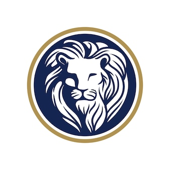 Lion head-logo