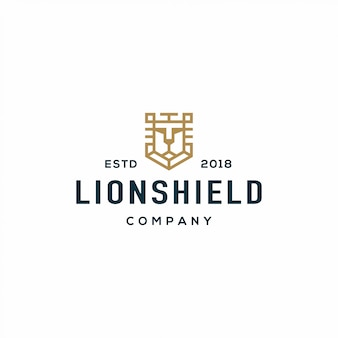 Lion shield-logo