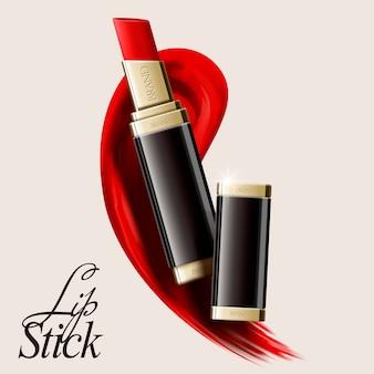 Lip stick illustratie