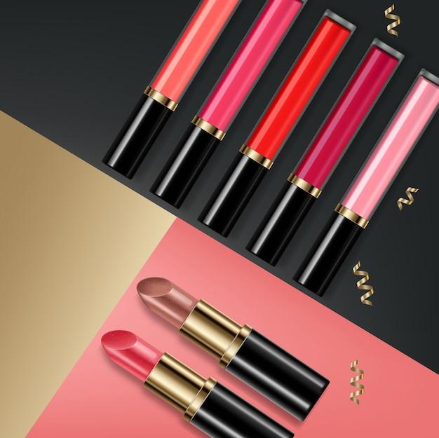 Lipgloss cosmetica verkoop