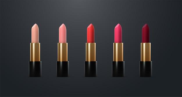 Lippenstift cosmetische producten collectie