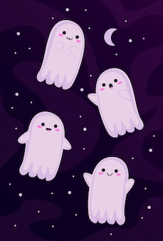 Little ghosts set