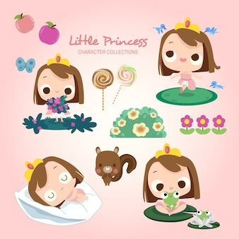 Little princess play