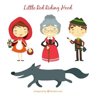 Little red riding hood karakters