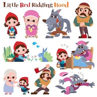 Little red riding hood-sprookje