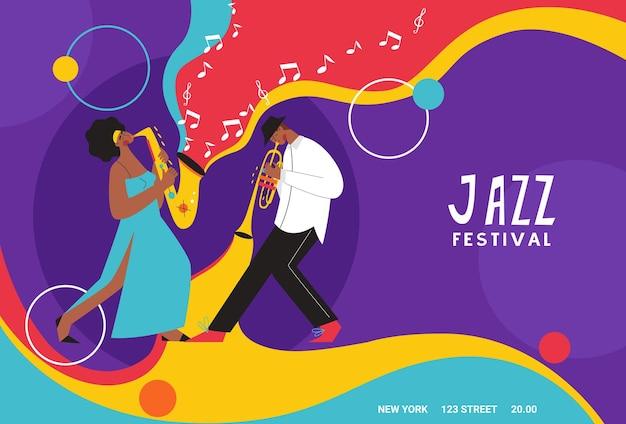 Live muziek band spelen op saxofoon, trombone, contrabas, piano. mensen die op muziekinstrumenten spelen.