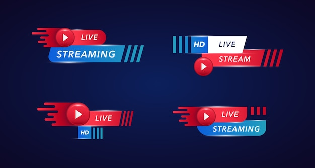 Live stream banner collecties