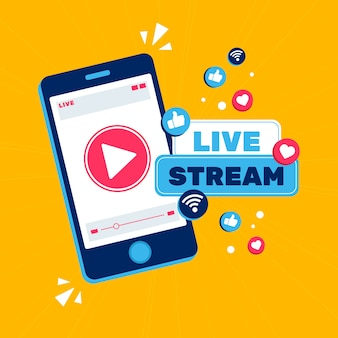 Live stream concept