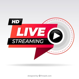 Live streaming achtergrond