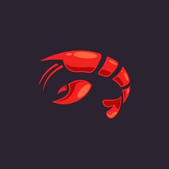 Lobster-logo Premium Vector
