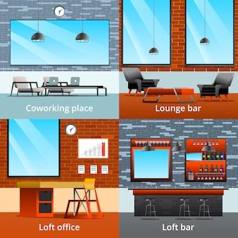 Loft interieurs
