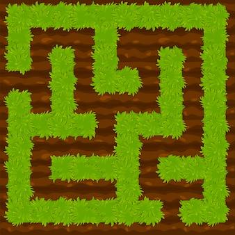 Logic bush labyrint voor kinderen