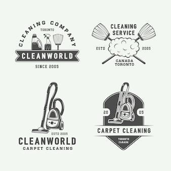 Logo badges, emblemen schoonmaken