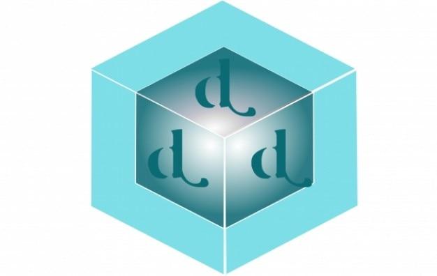 Logo blauw & groen vierkant d