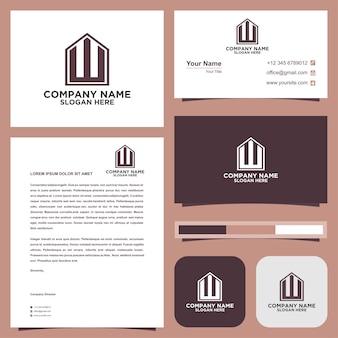 Logo brief eerste toverstaf visitekaartje