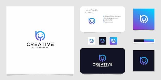 Logo by smile grafisch ontwerp voor andere toepassingen is zeer geschikt om te gebruiken