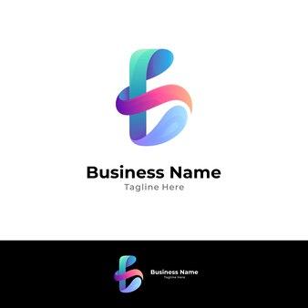 Logo concept van letter a combinatie met wave