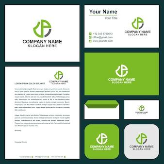 Logo dp en visitekaartje