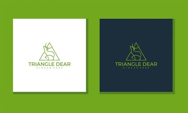 Logo driehoek beste concept eenvoudig