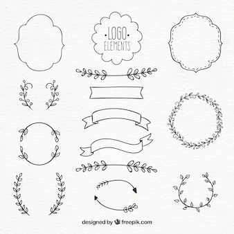 Logo element collectie