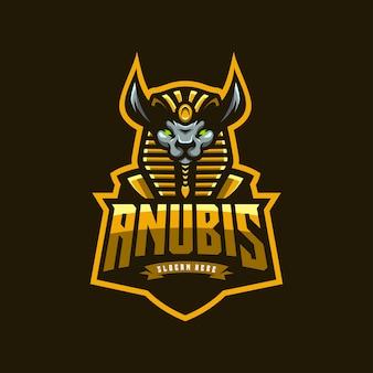 Logo icoon anubis esports