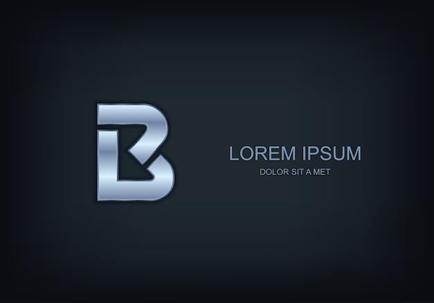 Logo in de vorm van de letter