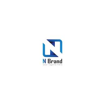 Logo letter eerste n