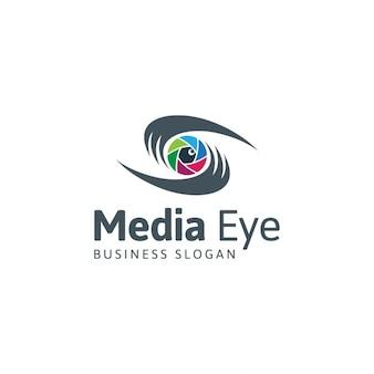 Logo media eye