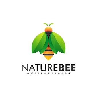 Logo natuur bee.