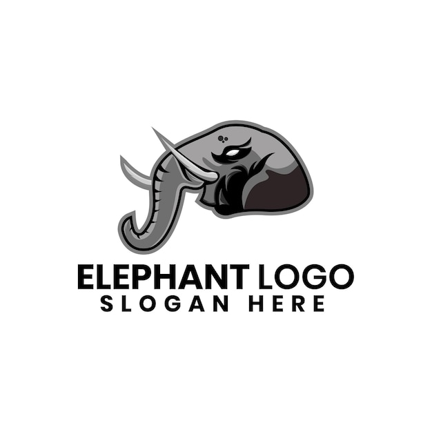 Logo olifant ontwerpsjabloon