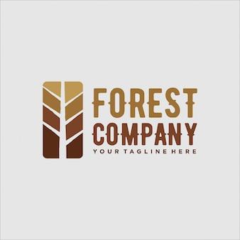 Logo ontwerp voor bosavontuur