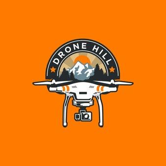 Logo-ontwerp voor drone-service