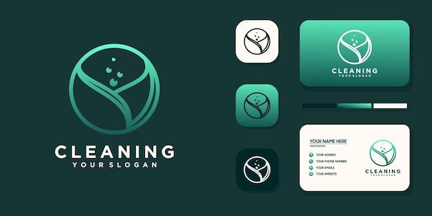 Logo-ontwerp voor eco-eigendom