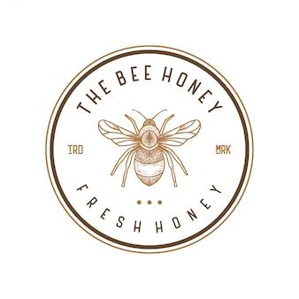 Logo ontwerp voor honingproducten of honingbijkwekerijen