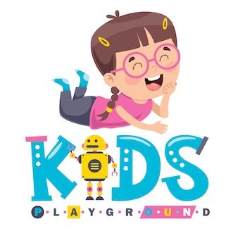 Logo ontwerp voor kinderspeelplaats