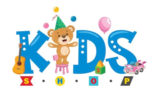 Logo ontwerp voor kinderwinkel