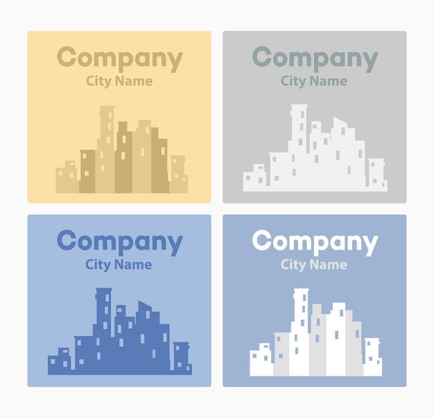 Logo ontwerp voor stedelijk vastgoed websites, makelaars, ontwerp visitekaartjes, flyers en uitnodigingen.
