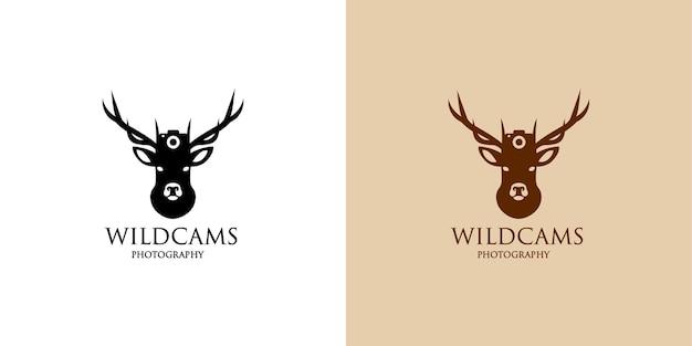 Logo-ontwerp voor wildcams-fotografie
