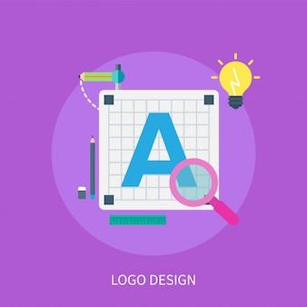 Logo ontwerpconcept